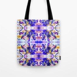 Shattered Blues Tote Bag