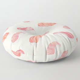 Watecolor Nigiri Sushi Pattern Floor Pillow