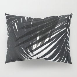 Palms Black Pillow Sham
