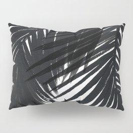 Palms Black Pillow Sham