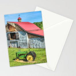 Hayesville Barn And Tractor Stationery Cards