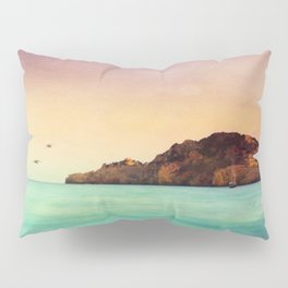 Glowing Mediterranean Pillow Sham