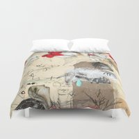 fairytale Duvet Covers featuring FairyTale by Natalie Pudalov