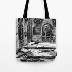 Moon Church Tote Bag