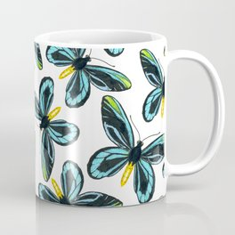 Queen Alexandra' s birdwing butterfly pattern design Coffee Mug