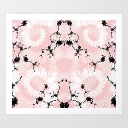 Pink Boheme Art Print