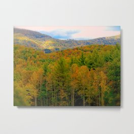 Autumnal Bliss Metal Print