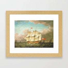 HMS Victory Framed Art Print