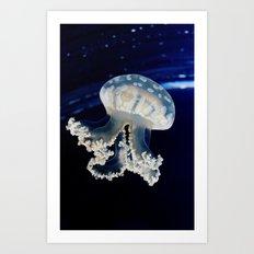 Rising Jellyfish Art Print