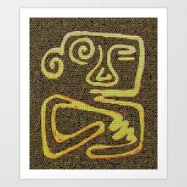 pre-colombian Art Print