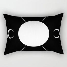 minimalist tarot deck Rectangular Pillow