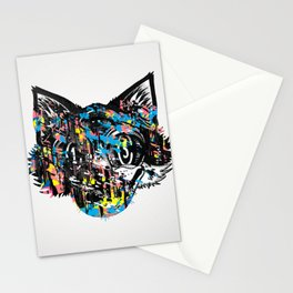 The Creative Cat (color varient) Stationery Cards