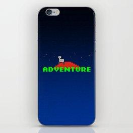 8-Bit Adventure On Mars iPhone Skin