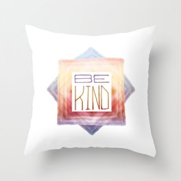 Be Kind - Star Throw Pillow