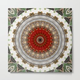 Mandala Good Hunting Metal Print