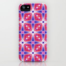 Watercolor Geometry Mod Pink iPhone Case