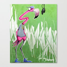 Pink the Rapper Canvas Print