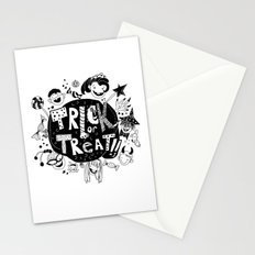 For Halloween - Trick or treat Stationery Cards