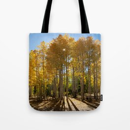 Autumn Blaze outside of Crested Butte, Colorado for #Society6 Tote Bag