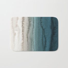 WITHIN THE TIDES - CRASHING WAVES TEAL Bath Mat