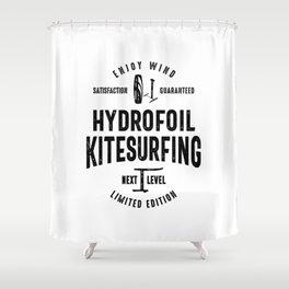 Kitesurf t shirt Kite Surfing Gifts Shower Curtain