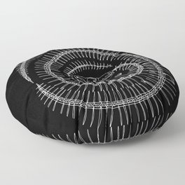 Spiral Floor Pillow