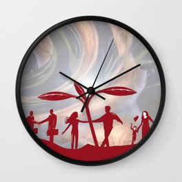 Happy Ever After Wall Clock