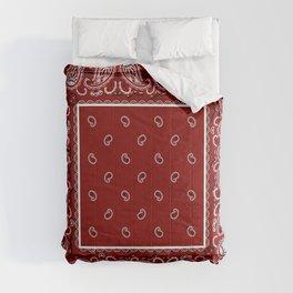 Classic Maroon Bandana Comforters