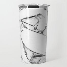 Sorrow (After Vincent Van Gogh)  Travel Mug