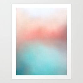 in dreams Art Print