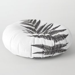 Minimal Fern Leaf Floor Pillow