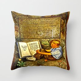 The Coit Memorial Tower Throw Pillow