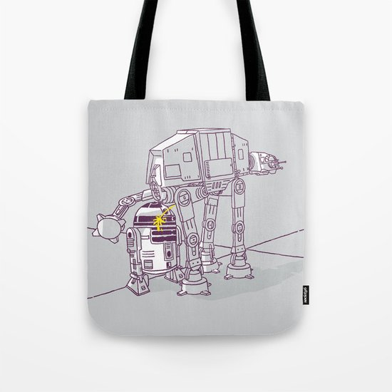 Not quite a fire hydrant Tote Bag