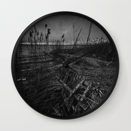 On the wrong side of the lake 12 Wall Clock