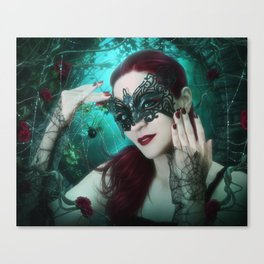 Dark Widow Canvas Print