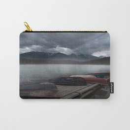Fog on Patricia Lake Carry-All Pouch
