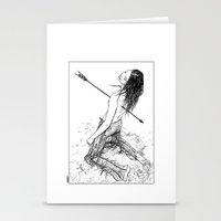 apollonia Stationery Cards featuring asc 156 - La flèche noire by From Apollonia with Love