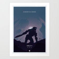 Halo 4 Poster 2 Art Print