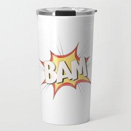 BAM COMIC EFFECT Travel Mug