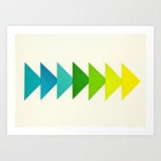 Arrows I Art Print