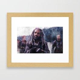 King Ezekiel Of The Kingdom - The Walking Dead Framed Art Print