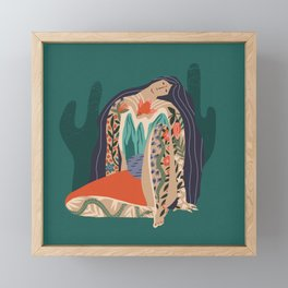 Madre Tierra Framed Mini Art Print