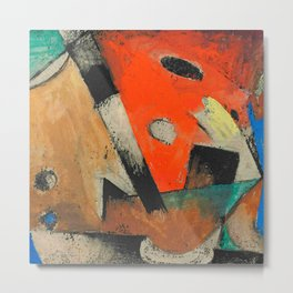 "Franz Marc ""Abstrakte Komposition"" Metal Print"