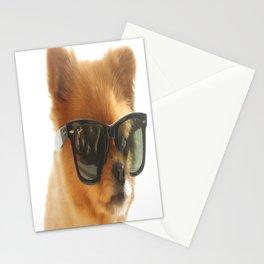 Stylish dog Pepe Stationery Cards