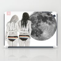 dark side iPad Cases featuring The Dark Side by Bryan James
