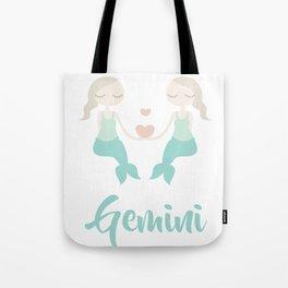 Gemini May 21 - June 20 - Air sign - Zodiac symbols Tote Bag
