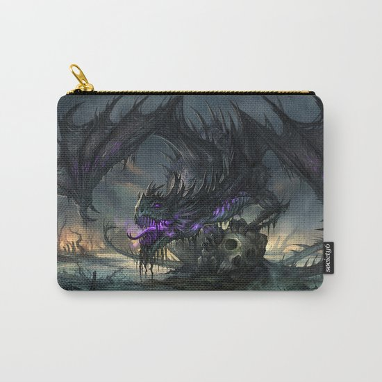 Black Dragon Carry-All Pouch