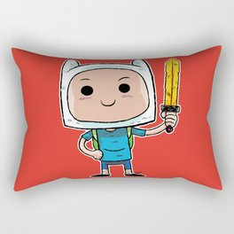What Time Is It? Rectangular Pillow