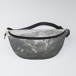 Such great Heights - Landscape Photography Fanny Pack