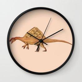 Wafflesaurus Wall Clock